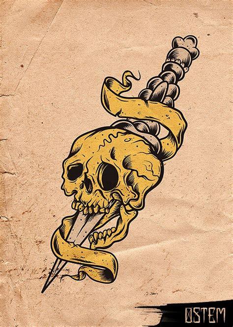 old school tattoo new zealand 42 best old school skull tattoos images on pinterest