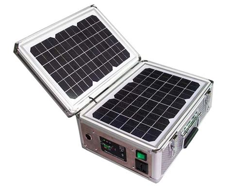 Small Home Solar Power Generator Portable Solar Powered Generator Solar Generator