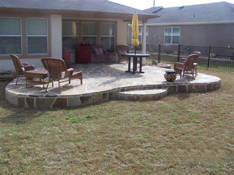 Rock Patio Designs Tallerdeimaginacion Sted Concrete Patio Designs Pics