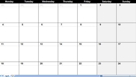 calendar template pdf april and may 2011 calendar printable