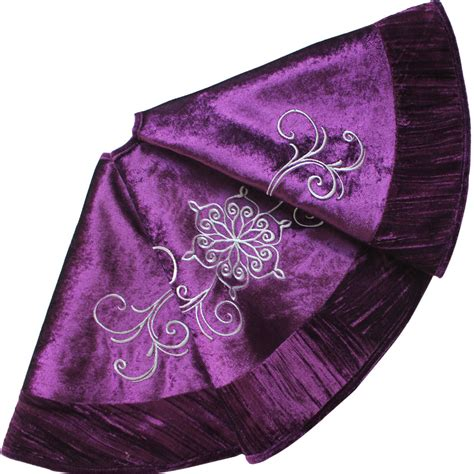 popular purple tree skirt buy cheap purple tree skirt lots