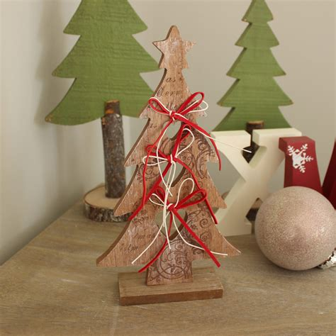 tree bows set of 2 wooden bow trees melody maison 174