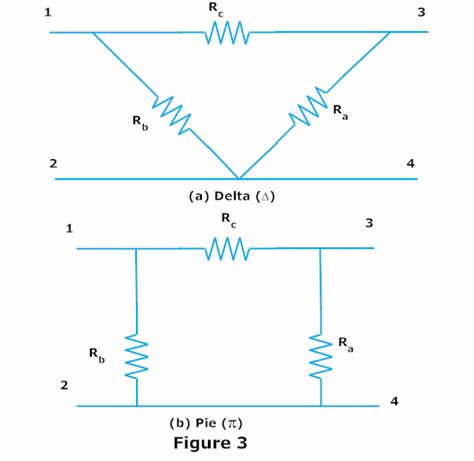 delta conversion formula for capacitors delta to wye and wye to delta conversion electrical circuits