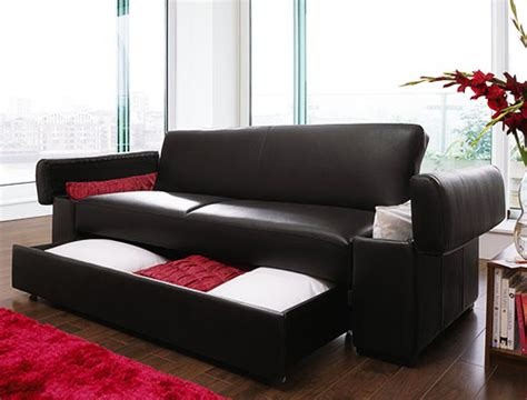 buy faux leather sofa bed with storage in mumbai from