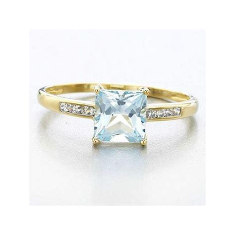 Ring Cincin Wanita cincin wanita ring 6 aquamarine cz model klasik