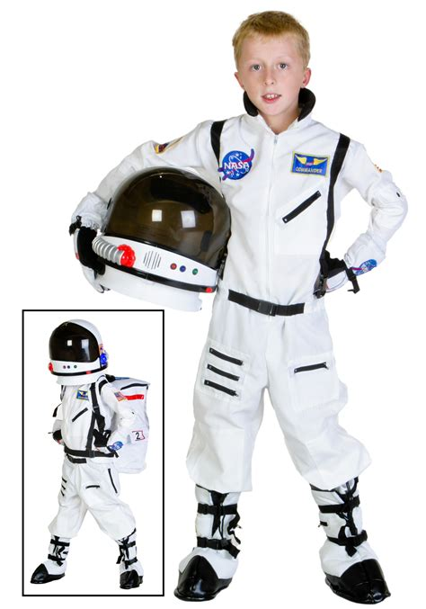 astronaut costume child white astronaut costume