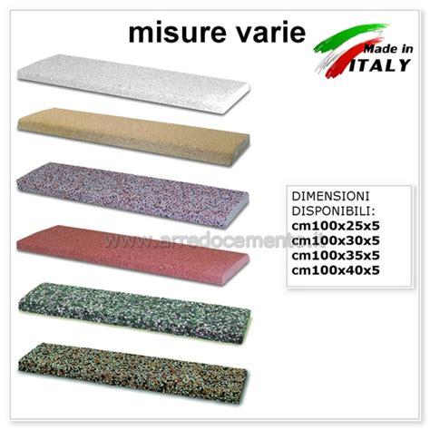 misure copertine coprimuro in cemento copertine varie misure nei vari colori