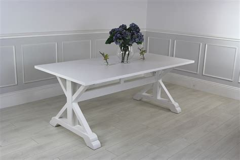 Contemporary White Dining Table New Modern White Contemporary Dining Table Ebay