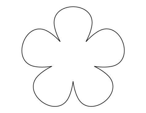 printable paper flower petals flower pattern use the printable outline for crafts