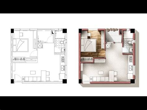 layout plan photoshop tutorial liven up a floor plan in photoshop 11min