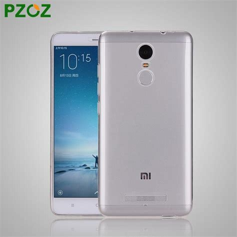 Casingbackdoor Xiomi Redmi 3pro pzoz xiomi redmi note 3 silicone cover original xiaomi redmi note 3 pro slim protection