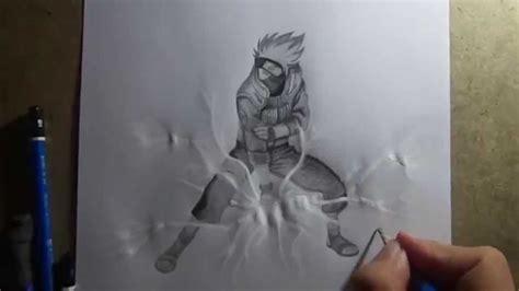Pencil Kakashi Sai Anime pencil drawing kakashi hatake