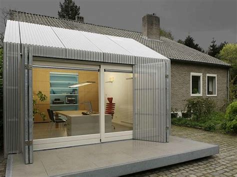 garage offices home office space in a garage by architecten en en