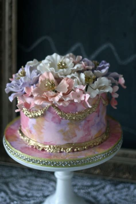 toronto elegant wedding cakes by the caketress stylish sugar flowers gold crown and crowns on pinterest