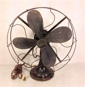 Oscillating Table Fan Vintage Westinghouse Oscillating Cast Base Fan Running