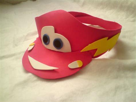 como hacer gorras de fomix del cars viseras gorras y sombreros locos