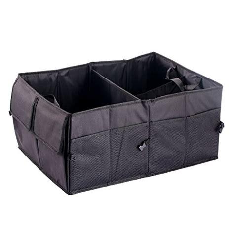 car trunk suv cargo organizer foldable collapsible multipurpose storage box bag ebay