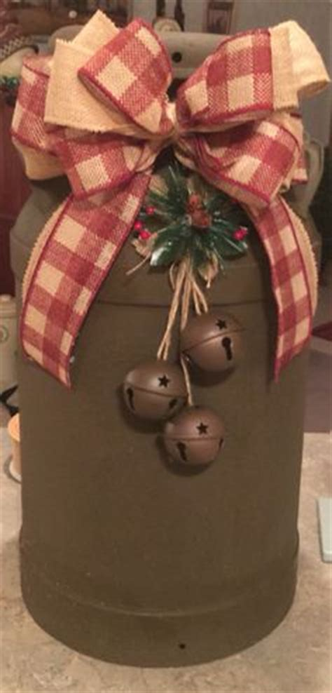 christmas milk can ideas pinterest 1000 ideas about country crafts on country primitive