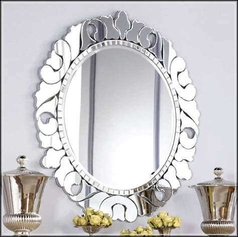 magnificent shapes of decorative bathroom mirrors for
