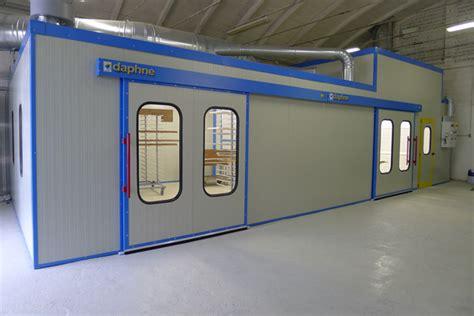 cabine verniciatura legno installata nuova cabina di verniciatura