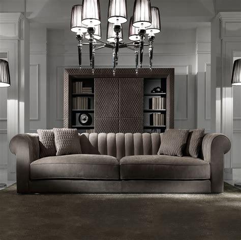 large modern sofas large modern chocolate brown nubuck leather italian sofa