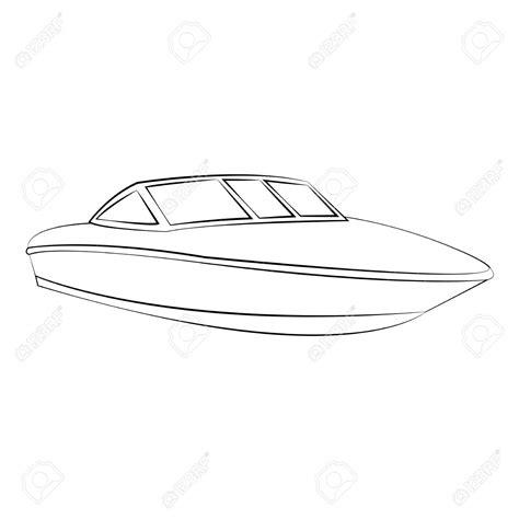 boat clipart outline boat outline clipart clipground