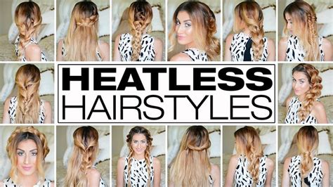 heatless hairstyles pinterest 23 outrageously easy 3 minute heatless hairstyles hair