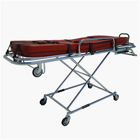 3d ambulance bed