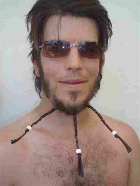 beaded goatee brad pitt beard