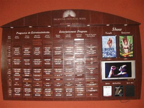 valentin imperial activities activities board picture of valentin imperial riviera