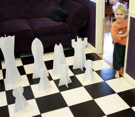 How To Make A Paper Chess Set - how to chess set make