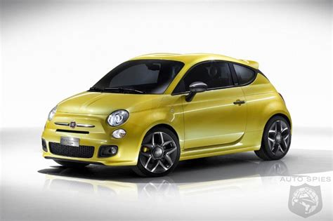 Fiat 500 Coupe by Fiat 500 Coupe By Zagato Is A Small Yellow Beast