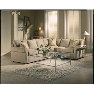 rowe brentwood sectional rowe brentwood rolled arm sectional sofa