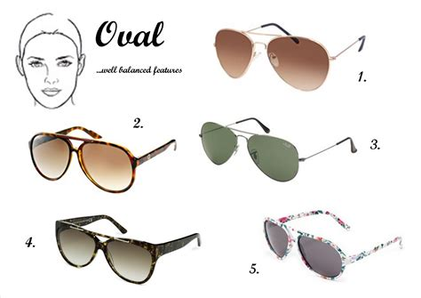 oval shaped heads best sunglasses for oval faces style wile