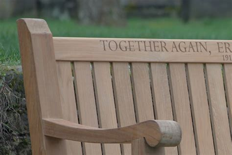 memorial bench uk memorial benches designed to be strong and comfortable
