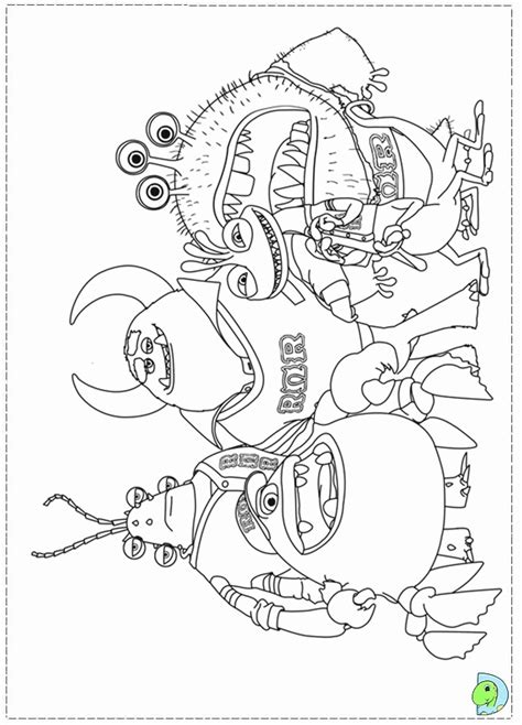 printable coloring pages monsters university monsters university for free coloring home