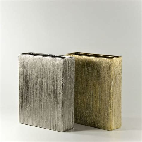 Rectangle Vases Wholesale by Thin Etched Rectangle Vases And Containers