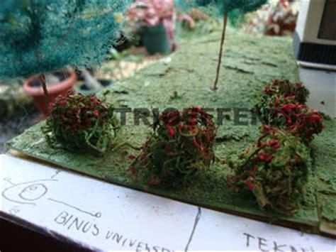 Maket Rumput Halus Diorama Rumput Serbuk Rumput Halus septrioeffendi membuat maket pohon dan rumput