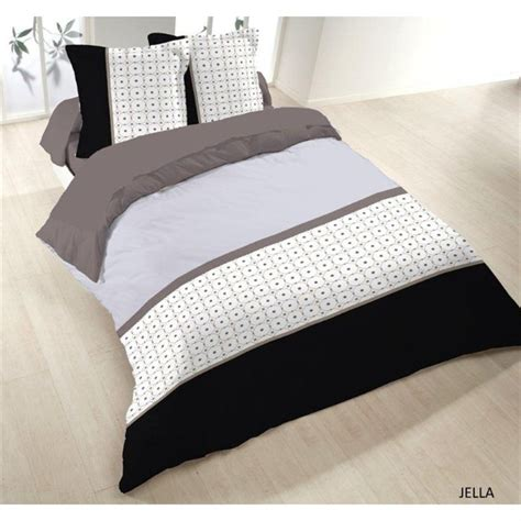 Couette 200x200 by Housse Couette 200x200 2 Taies Jella 100 Coton Achat