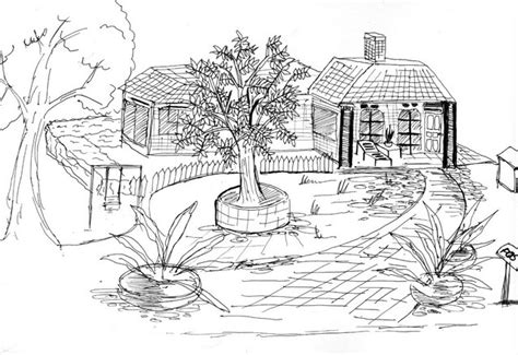 tutorial menggambar sketsa bangunan sketsa agus riyanto