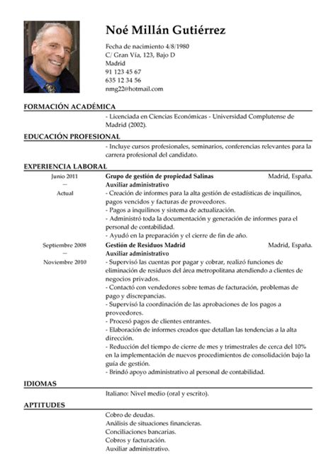 Ejemplo Curriculum Director Recursos Humanos Modelo De Curr 237 Culum V 237 Tae Ayudante De Contabilidad Ayudante De Contabilidad Cv Plantilla