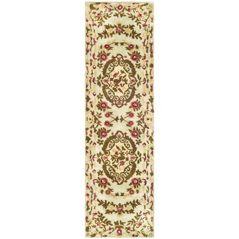 rug runners 2 x 10 safavieh classic assorted 2 ft 3 in x 10 ft rug runner cl756a 210 the home depot