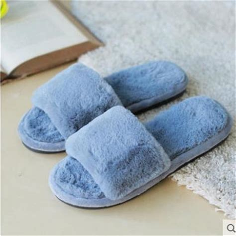 winter flat shoes 36 41fashion winter fur flat shoes sandals winter