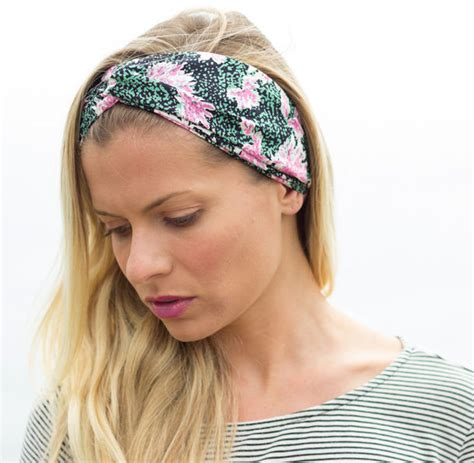 hairstyles with scarf headbands scarf turban headband turband blonde hair girl
