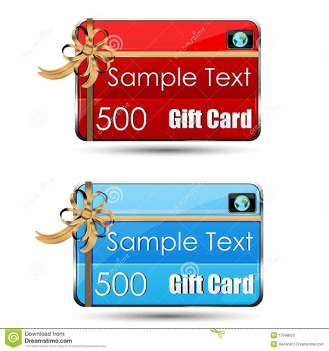 Gift Card Stock Photo - gift card royalty free stock photo image 17548525