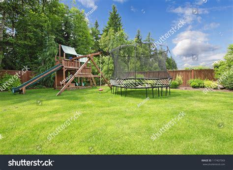 fenced in backyard fenced