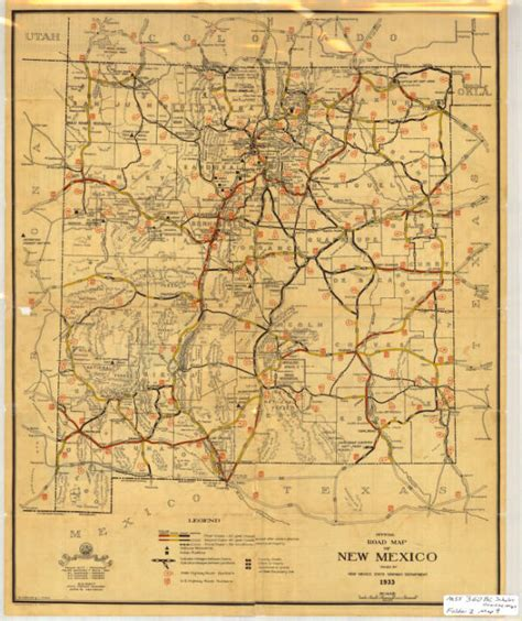 new mexico maps research route 66