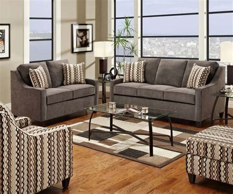 Simmons Living Room Furniture Simmons Upholstery Anthony 4 Sleeper Sofa Set 8950flco Contemporary Living