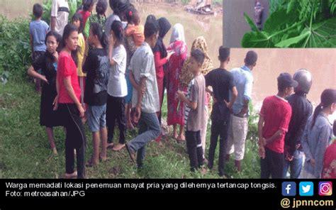 Tongsis Di Riau ngeri tongsis menancap di leher pria ini innalillahi