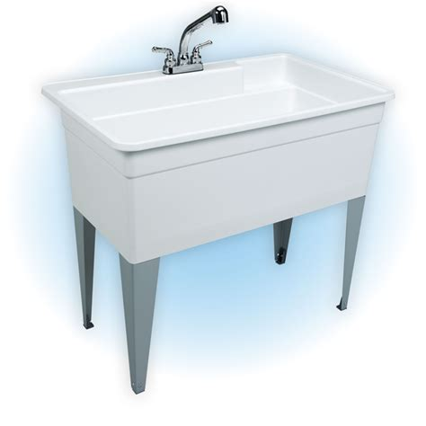 free standing laundry sink free standing 40 quot utility sink buyer s market